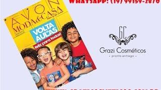 getlinkyoutube.com-Folheto Avon Moda & Casa Campanha 04/2017 | Veja Revista Avon Moda & Casa