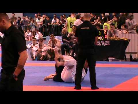 BJJ 2013 British Open Ryan Hendry 1st Fight