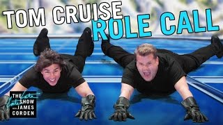 getlinkyoutube.com-Tom Cruise Acts Out His Film Career w/ James Corden