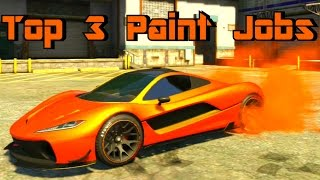 getlinkyoutube.com-GTA 5 Paint Jobs Progen T20 Top 3 Paint Jobs (GTA 5 Paint Job Guide)