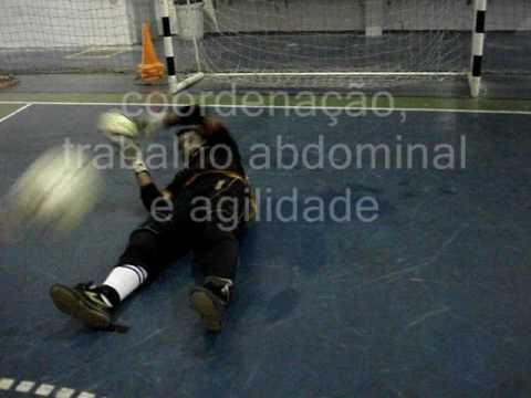 7) TREINAMENTO GOLEIRO FUTSAL GOALKEEPER TRAINING(PROF. TIAGO PONTES)