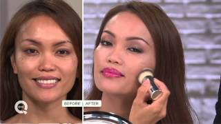 getlinkyoutube.com-IT Cosmetics CC Veil SPF 50 Foundation Cushion Compact with Brush with Amy Stran
