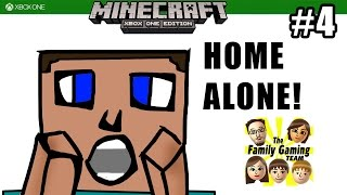 getlinkyoutube.com-Dad plays MINECRAFT XBOX ONE: Home Alone! / Going Out with a Bang! (#4)