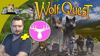 getlinkyoutube.com-DEN FARLIGE REJSE! - WolfQuest dansk med Den Mandige Elg