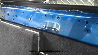 getlinkyoutube.com-2005-2015 Toyota Tacoma Double Cab subwoofer box by Sound Off Audio