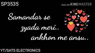 Tu hi na jaane (patta patta janata hai) best love song whatsapp love status video