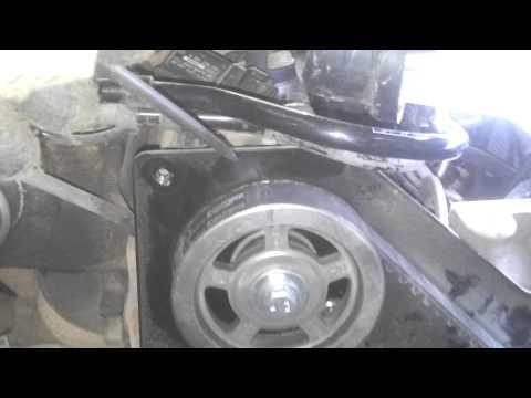 Ford focus TDCi 1.8 Замена ремня ГРМ