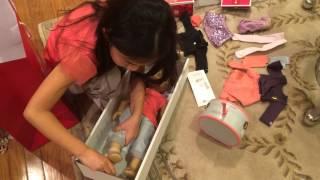 getlinkyoutube.com-Opening American Girl Doll Isabelle ~ Girl Of The Year 2014!