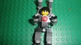 getlinkyoutube.com-HOW TO MAKE LEGO MECH ARMOUR