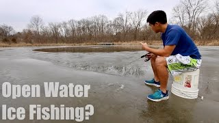 getlinkyoutube.com-Fishing on UNSAFE Ice... (WARNING: DO NOT TRY AT HOME)