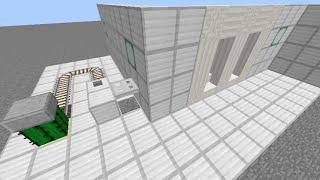 Minecraft 券売機&改札機能付き 駅システム