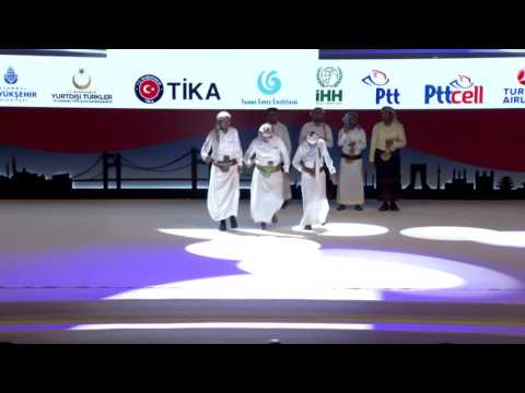 Yemen Dansı - 10.Uluslararası Öğrenci Buluşmsı Finali