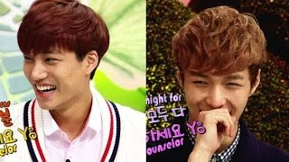 getlinkyoutube.com-Hello Counselor - Kai and Lay of EXO, IU, K.Will! (2013.10.28)