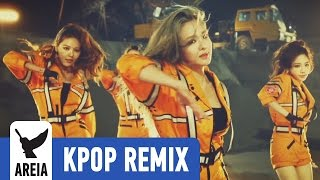 Girls' Generation - Catch Me If You Can (Korean Ver.) | Areia Kpop Remix #178
