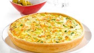 getlinkyoutube.com-Quiche de verduras y pollo