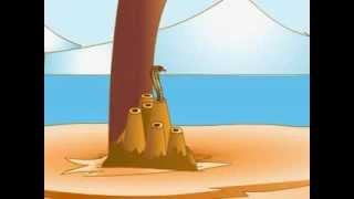getlinkyoutube.com-Panchatantra Hindi Animation Stories - Crow and Snake