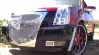 getlinkyoutube.com-ALL WIRED CUSTOM GRILLS ESCALADE PLATINUM