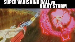 getlinkyoutube.com-Dragon Ball Xenoverse - Super Vanishing Ball vs Giant Storm [COG INCORPORATED]