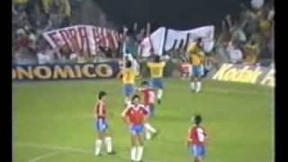 getlinkyoutube.com-Eliminatórias Copa 1990: Brasil 1x0 Chile (1989)