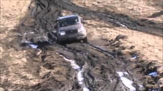 getlinkyoutube.com-Весенний прорыв УАЗ Патриот UAZ NIVA Toyota Hilux