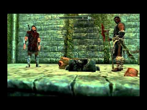 Skyrim episodio 4 decapitaciones, hearthfire y ms dinero infinito by kobe