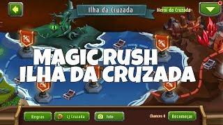 getlinkyoutube.com-Magic Rush - Ilha da Cruzada ( ganhe não se entregue! )