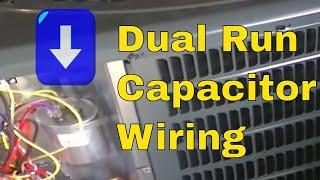 getlinkyoutube.com-HVAC Training- Dual Run Capacitor Wiring