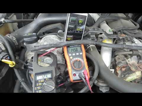 2008.5 Jeep Grand Cherokee CRD Diesel Start-Up Glow Plugs Fuel Pressure