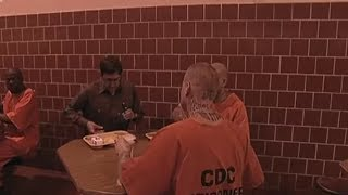 Mealtimes at San Quentin prison - Louis Theroux Behind Bars - BBC