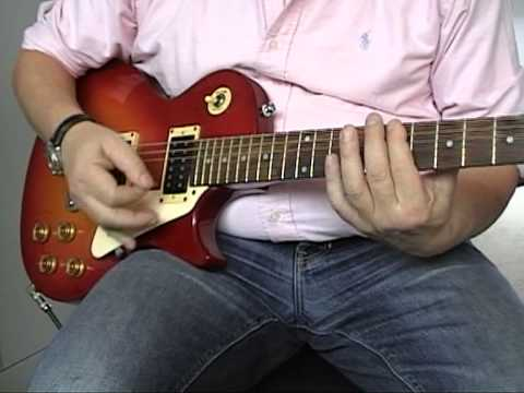 Guitarlessons Rolling Stones  -  Jumping Jack Flash