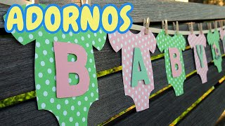 getlinkyoutube.com-40 Ideas Adornos para Decorar un Baby Shower *Niño* HD