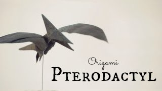 getlinkyoutube.com-How to make an Origami Pterodactyl / Pteranodon (Tadashi Mori)