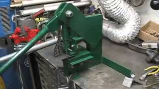 getlinkyoutube.com-Homemade Punch Press