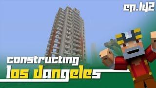 Minecraft Xbox 360: Constructing Los Dangeles - Episode 142! (Grandiose Apartments?!)