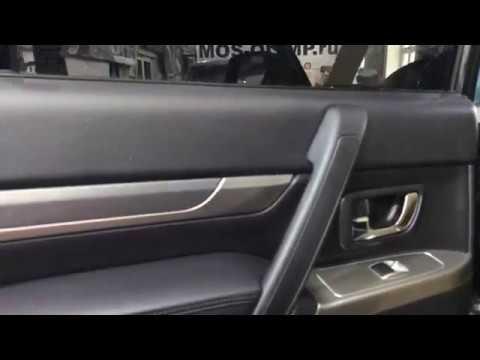 Mitsubishi Pajero частичная шумоизоляция, а именно многослойная шумка олимп четырех дверей