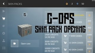 """15 Skin Case Opening - Critical Ops - """"NEW SKINS"""""""