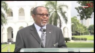 Katibu Mkuu Kiongozi OMBENI SEFUE atoa Taarifa ya Siku 100 za Rais Dkt JOHN MAGUFULI Ikulu