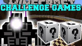 getlinkyoutube.com-Minecraft: ROBO WARRIOR CHALLENGE GAMES - Lucky Block Mod - Modded Mini-Game