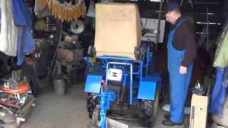 getlinkyoutube.com-Трактор мотоблок Зубр