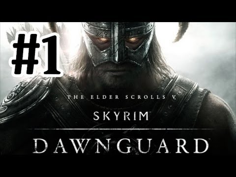 Elder Scrolls V : Skyrim Dawnguard DLC Walkthrough - Part 1 One Hour Special