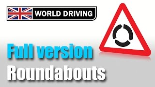 getlinkyoutube.com-How to deal with roundabouts driving lesson: Easy to understand UK roundabouts