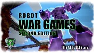 getlinkyoutube.com-Robot War Games - Minecraft Mech Battle