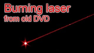 getlinkyoutube.com-DIY Extremly powerful burning laser from old DVD / Мощный лазер из старого DVD (reload)