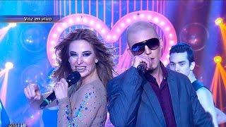 getlinkyoutube.com-Jesica Cirio y Matías Carrica son Jennifer López y Pitbull  - Tu Cara me Suena 2015