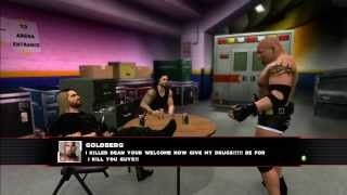 "getlinkyoutube.com-WWE 2K14 Story - ""Goldberg on Drugs"" - (Start/Finish)"