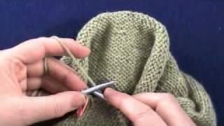 getlinkyoutube.com-The Top-Down Sleeve:  The Sleeve Cap, Part 2 of 2