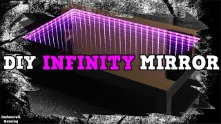 getlinkyoutube.com-How to make infinity mirror for Custom desk PC Mod