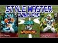 #MUT15 | STYLE MASTER SET COMPLETE | 95 Luke Kuechly & Peyton Manning |