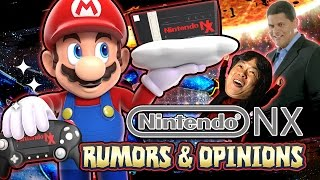 Nintendo NX - CLOUD Gaming, Handheld+Console, & Opinions