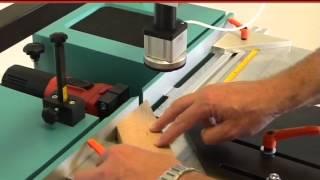 getlinkyoutube.com-Hoffmann PU2 Dovetail Routing Machine